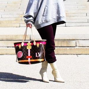 Louis Vuitton Summer Trunk Neverfull Tote